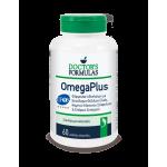 DOCTOR'S FORMULAS Omega Plus Συμπλήρωμα Διατροφής με Φόρμουλα Ιχθυέλαιων 60 Μαλακές Κάψουλες