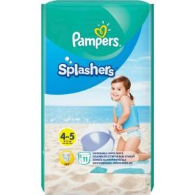 PAMPERS Splashers Πάνα-Μαγιό No4-5 (9-15kg) 11τμχ