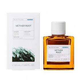 KORRES Eau De Toilette Vetiver Root Ανδρικό Άρωμα 50ml