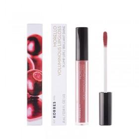 KORRES Morello Voluminous Lipgloss για Γεμάτα Χείλη & Λαμπερό Αποτέλεσμα Απόχρωση 23 Natural Purple 4ml