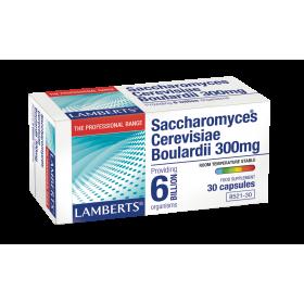 LAMBERTS Saccrharomyces Cerevisiae Boulardii 300mg 30 Κάψουλες