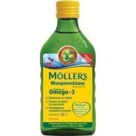 MOLLER'S Μουρουνέλαιο Φυσική Γεύση 250ml
