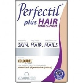 VITABIOTICS Perfectil Plus Hair Extra Support 60 Ταμπλέτες
