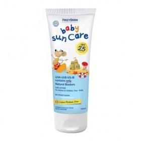 FREZYDERM Baby Sun Care SPF 25 Αντιηλιακό Γαλάκτωμα Προσώπου και Σώματος για Βρέφη και Παιδιά 100ml