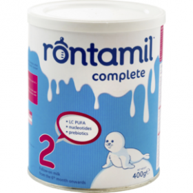 RONTAMIL 2 Γάλα σε σκόνη δεύτερης βρεφικής ηλικίας 400gr